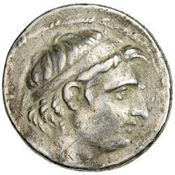 SELEUKID KINGDOM: Demetrios I Soter, 162-150 BC, AR tetradrachm (16.28g), Sel-158 (155/54 BC)