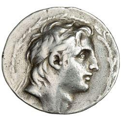 SELEUKID KINGDOM: Demetrios I Soter, 162-150 BC, AR tetradrachm (16.47g), Sel-160 (153/52 BC)