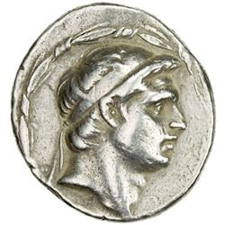 SELEUKID KINGDOM: Demetrios I Soter, 162-150 BC, AR tetradrachm (16.44g), ND
