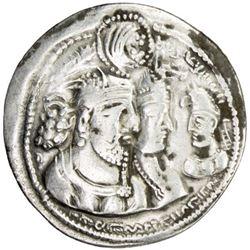 SASANIAN KINGDOM: Varahran II, 276-293, AR drachm (4.14g)
