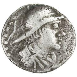 MERV: Early Graeco-Scythian, ca. 130-80 BC, AR drachm (3.59g)