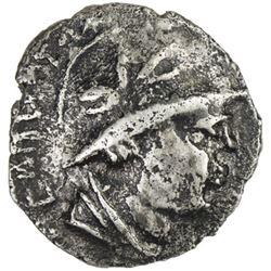 YUEH CHI: Sapadbizes, late 1st century BC, AR hemidrachm (1.53g)