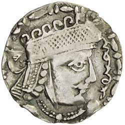 CHORESMIA: Sawrshafan, ca. 751-762, AR tetradrachm (3.11g)