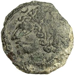 CHACH: Anonymous, about 3rd century, AE cash (2.42g)