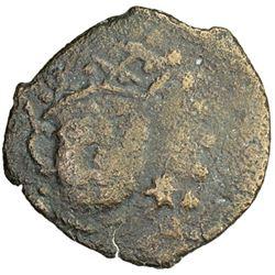CHACH: Satacharni, 7th or 8th century, AE cash (2.06g)