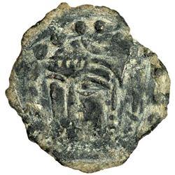 CHACH: Rutchik, 7th or 8th century, AE cash (1.76g)