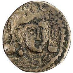 KANKA: Anonymous, 7th century, AE cash (1.05g)