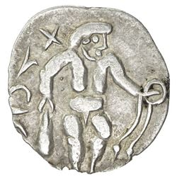 SOUTHERN SOGHD: Unknown ruler, 1st-2nd century, AR obol (0.50g)