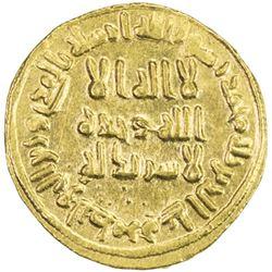 UMAYYAD: 'Abd al-Malik, 685-705, AV dinar (4.29g), NM (Dimashq), AH79