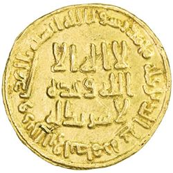 UMAYYAD: 'Abd al-Malik, 685-705, AV dinar (4.26g), NM (Dimashq), AH86