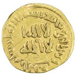 UMAYYAD: al-Walid I, 705-715, AV thulth (1/3 dinar) (1.41g), NM (Dimashq), AH92