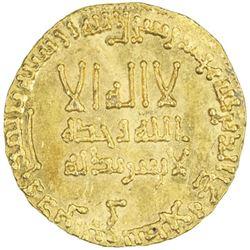 ABBASID: al-Mansur, 754-775, AV dinar (4.23g), NM, AH146