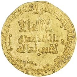 ABBASID: al-Mansur, 754-775, AV dinar (4.24g), NM, AH150