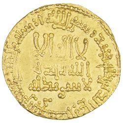 ABBASID: al-Mansur, 754-775, AV dinar (4.25g), NM, AH153
