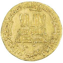 ABBASID: al-Mahdi, 775-785, AV dinar (4.24g), NM, AH159