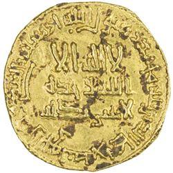 ABBASID: al-Mahdi, 775-785, AV dinar (4.14g), NM, AH162