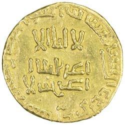 ABBASID: al-Mahdi, 775-785, AV dinar (3.14g), NM, ND