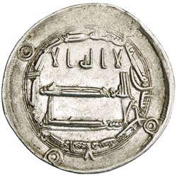 ABBASID: al-Mahdi, 775-785, AR dirham (2.93g), Qasr al-Salam, AH167