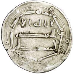 ABBASID: al-Hadi, 785-786, AR dirham (2.69g), Ifriqiya, AH170