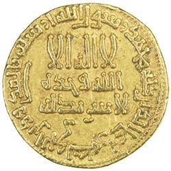 ABBASID: al-Rashid, 786-809, AV dinar (4.21g), NM (Madinat al-Salam), AH172