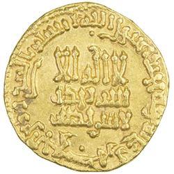 ABBASID: al-Rashid, 786-809, AV dinar (4.26g), NM (Madinat al-Salam), AH175