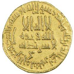 ABBASID: al-Rashid, 786-809, AV dinar (4.23g), NM (Egypt), AH170