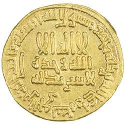 ABBASID: al-Rashid, 786-809, AV dinar (4.22g), NM (Egypt), AH176