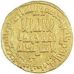 ABBASID: al-Rashid, 786-809, AV dinar (4.23g), NM (Egypt), AH179