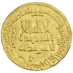 ABBASID: al-Rashid, 786-809, AV dinar (4.24g), NM (Egypt), AH185