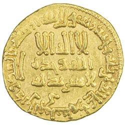 ABBASID: al-Rashid, 786-809, AV dinar (4.23g), NM (Egypt), AH187