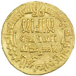 ABBASID: al-Rashid, 786-809, AV dinar (4.23g), NM (Egypt), AH192