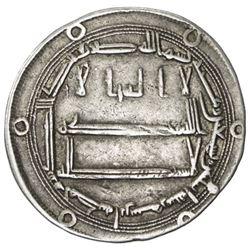 ABBASID: al-Rashid, 786-809, AR dirham (2.95g), Abarshahr, AH192
