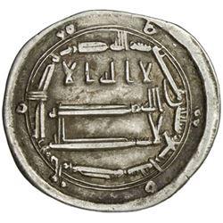 ABBASID: al-Rashid, 786-809, AR dirham (2.79g), al-Muhammadiya, AH174