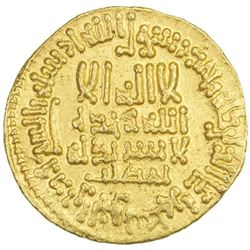ABBASID: al-Ma'mun, 810-833, AV dinar (4.25g), NM (Egypt), AH199