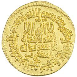 ABBASID: al-Ma'mun, 810-833, AV dinar (4.17g), Misr, AH204