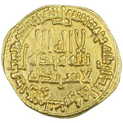 ABBASID: al-Ma'mun, 810-833, AV dinar (4.20g), NM (Iraq), AH203