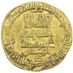 ABBASID: al-Ma'mun, 810-833, AV dinar (4.18g), NM, AH200