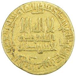 ABBASID: al-Ma'mun, 810-833, AV dinar (4.22g), NM (Iraq), AH203