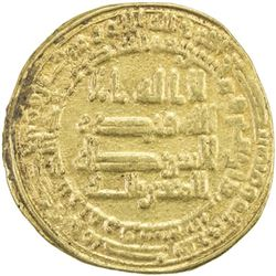 ABBASID: al-Mutawakkil, 847-861, AV dinar (4.23g), Marw, AH243