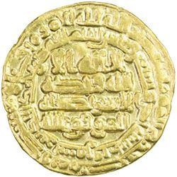 ABBASID: al-Mu'tamid, 870-892, AV dinar (4.09g), Samarqand, AH272
