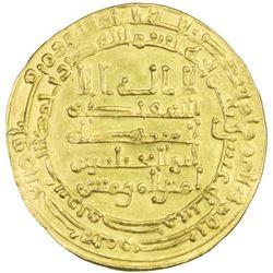ABBASID: al-Muqtadir, 908-932, AV dinar (3.94g), Misr, AH310