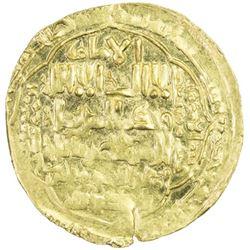 ABBASID: al-Musta'sim, 1242-1258, AV dinar (4.65g), Madinat al-Salam, AH654