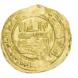 UMAYYAD OF SPAIN: Sulayman, 1009-1010, AV dinar (4.57g), Madinat al-Zahra, AH400