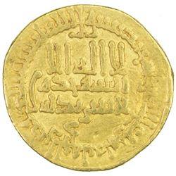 AGHLABID: Muhammad II, 864-874, AV dinar (4.15g), NM, AH252