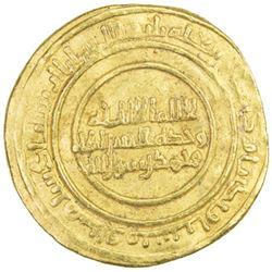 ZIRID OF QAYRAWAN: al-Mu'izz b. Badis, 1016-1062, AV dinar (4.16g), al-Qayrawan, AH441