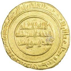 ZIRID OF QAYRAWAN: al-Mu'izz b. Badis, 1016-1062, AV dinar (3.89g), al-Qayrawan, AH444