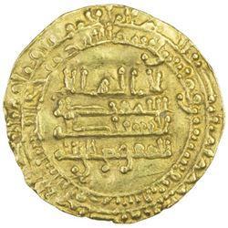 TULUNID: Khumarawayh, 884-896, AV dinar (2.94g), al-Rafiqa, AH273