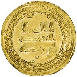 TULUNID: Khumarawayh, 884-896, AV dinar (4.12g), Misr, AH280