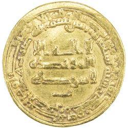 TULUNID: Harun, 896-905, AV dinar (4.15g), Misr, AH290