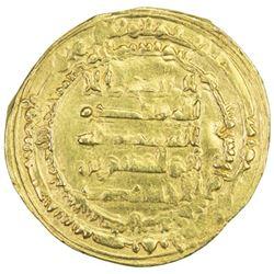 IKHSHIDID: Abu'l-Qasim, 946-961, AV dinar (3.22g), Filastin, AH345